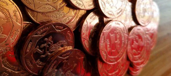 Münzen auf der Grenzwacht 22